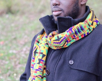 Northern Ashanti Kwasi Scarf without Fringe