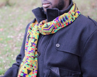 Northern Ashanti Kwasi scarf with Fringe
