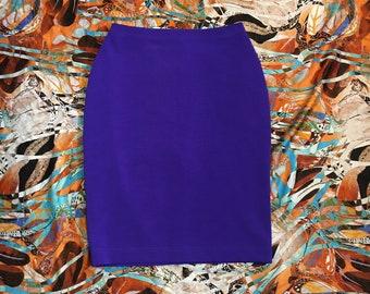 Vintage 80s DANSKIN Swimsuit or Sports Wear Bodysuit  One Piece with Matching Skirt  Spandex Skirt  Vintage Onesie  Festival Wear