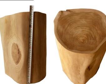 Superieur Teak Wood Table Base, Log Furniture, Tree Stump Table, Reclaimed Stump