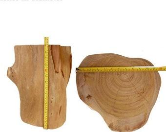 Exceptionnel Teak Wood Table Base, Log Furniture, Tree Stump Table, Reclaimed Stump