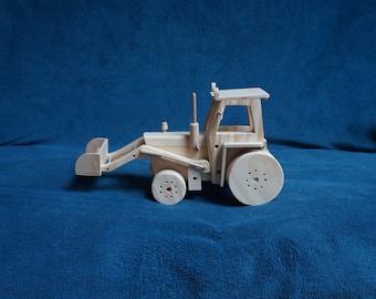 interior decoration tractor wooden David