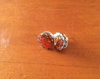 Bronze Sparke Earrings