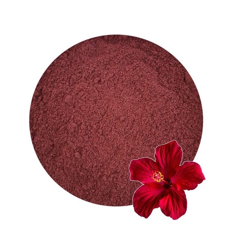 Organic Hibiscus Flower Powder Etsy