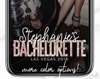 Bachelorette Snapchat Filter Bachelorette Snapchat Geofilter Hen Party Girls Night Wedding Glitter Snapchat Bachelorette Geofilter Filter
