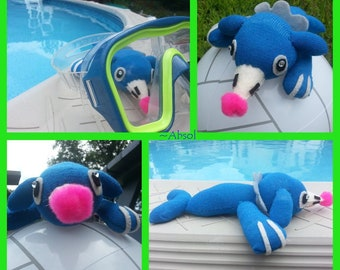Popplio Pokemon Sock Plush