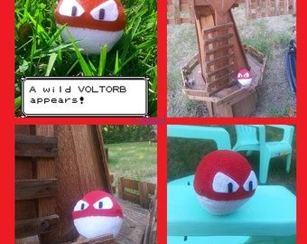 Voltorb Pokemon Plush