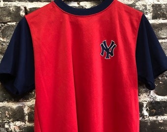Alex Rodriguez #13 Rare Yankees Red Baseball MLB Jersey, Small.