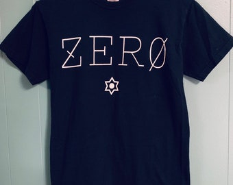 Vintage Smashing Pumpkins Zero Distressed Thin T-Shirt, Small.