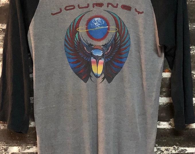 Featured listing image: 80 Vintage Journey Escape Tour Knits Raglan T-Shirt M/L