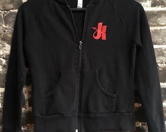 Official Kink.com American Apparel Fleece Cropped Women's XS Sweatshirt Hoodie