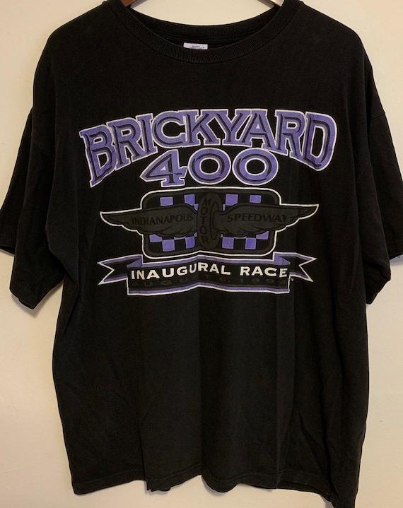 Vintage 1994 Brickyard 400 Inaugural Race Soft Distressed T-Shirt XL