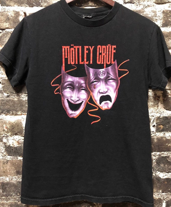 Vintage Motley Crue Theatre of Pain Rock Shirt Size Small
