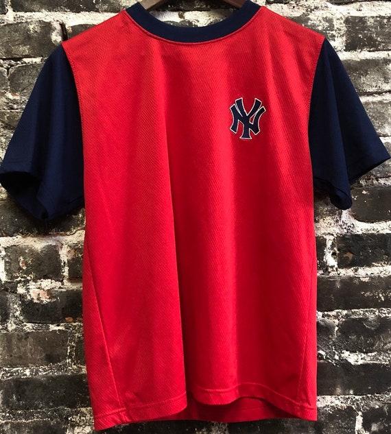 Alex Rodriguez #13 Rare Yankees Red Baseball MLB Jersey, Small.