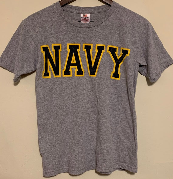 Vintage Navy Seal Military Soft Distressed Grey T-Shirt S