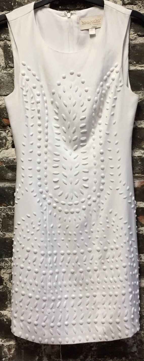 Keepsake the Label White Sequin Dress, Size XS.