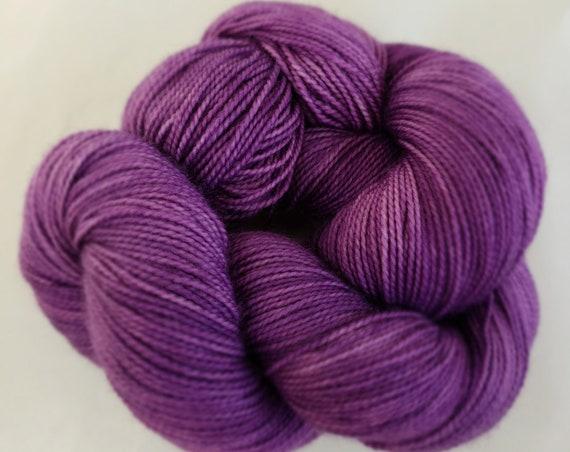 Hand Dyed Yarn/Superwash merino/nylon/Sock Yarn/Mardi Gras - DYED TO ORDER