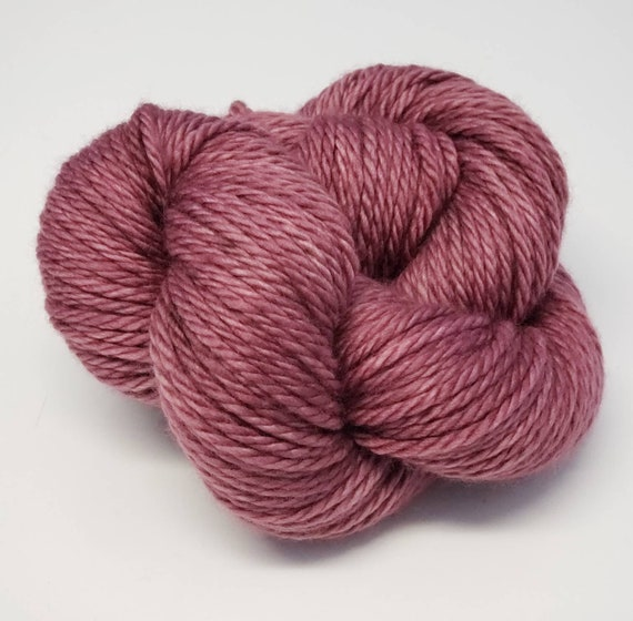 Hand Dyed Yarn/Superwash merino/Bulky /Grandmother- Dyed to Order