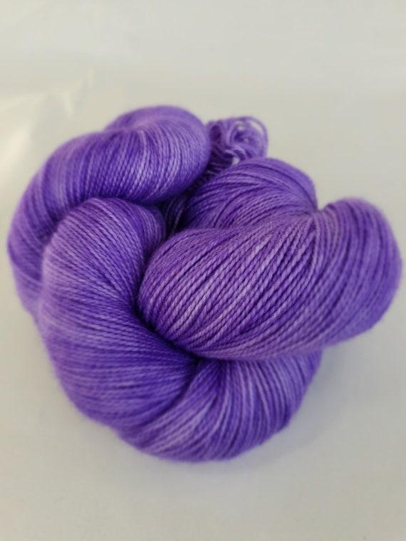 Hand Dyed Yarn/Superwash merino/nylon/Sock Yarn/Aurora - DYED TO ORDER