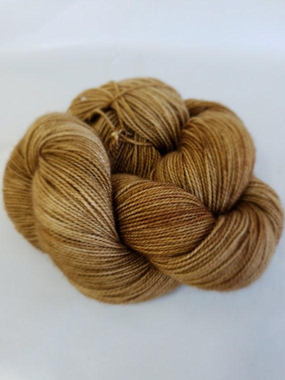 Hand Dyed Yarn/Superwash merino/nylon/Sock Yarn/Macchiatto - DYED TO ORDER