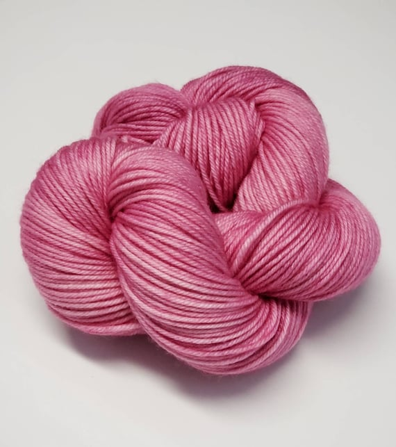 Hand Dyed Yarn/Superwash merino/DK /Wisteria- Dyed to Order