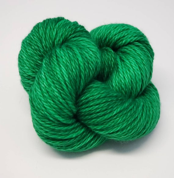 Hand Dyed Yarn/Superwash merino/Bulky /Oz- Dyed to Order