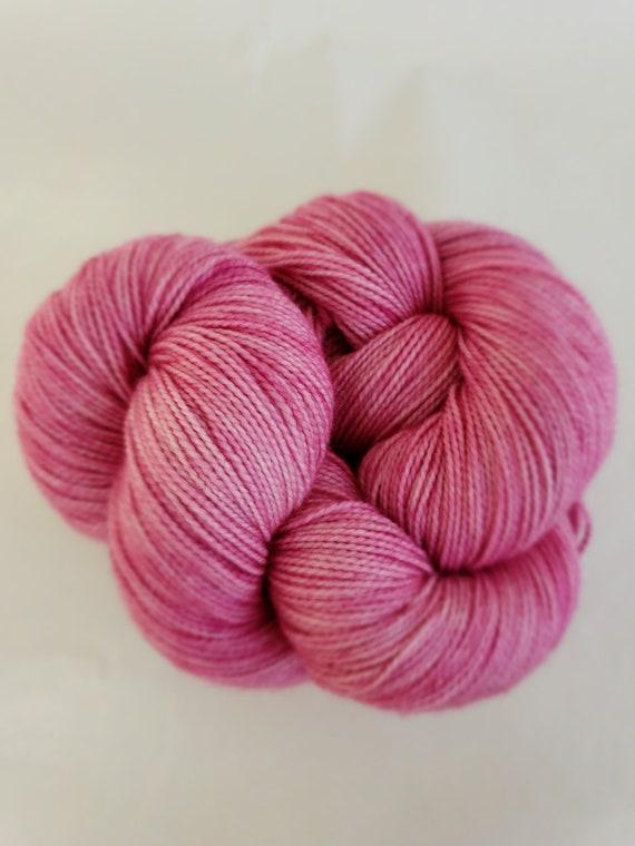 Hand Dyed Yarn/Superwash merino/nylon/Sock Yarn/Wisteria - DYED TO ORDER