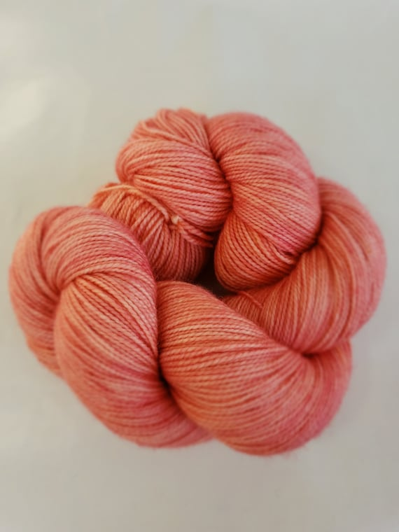 Hand Dyed Yarn/Superwash merino/nylon/Sock Yarn/Pesca - DYED TO ORDER