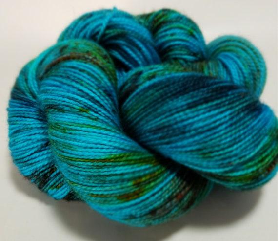 Hand Dyed Yarn/Superwash merino/nylon/Sock Yarn/Lady Marmalade - DYED TO ORDER