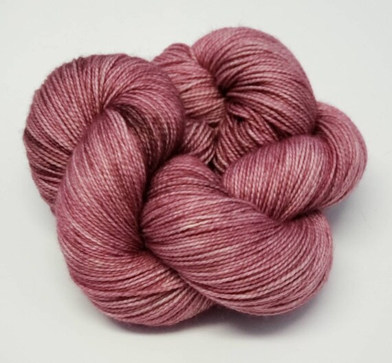 Hand Dyed Yarn/Superwash merino/nylon/Sock Yarn/Grandmother- DYED TO ORDER