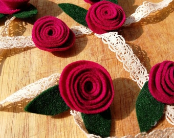 Marroon ranunculus garland - Floral wedding decor - Floral Wall hanging