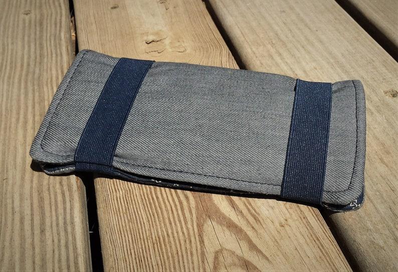 Demin wallet Fabric women/'s wallet
