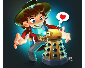 The Fourth Doctor - Small print