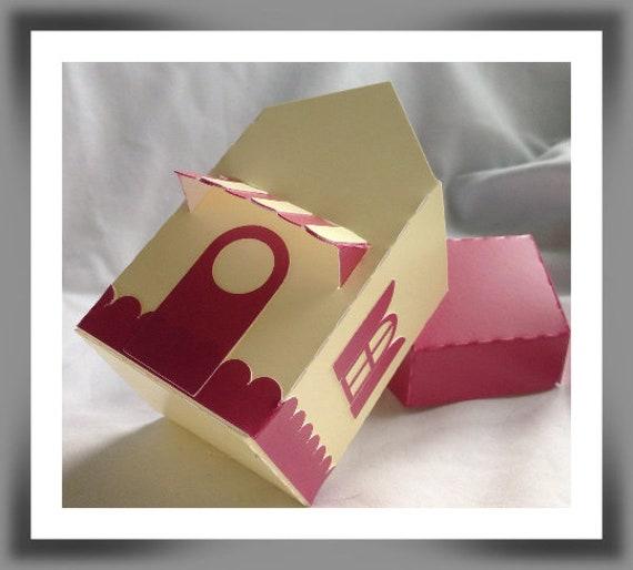 House Shaped Gift Or Keepsake Box
