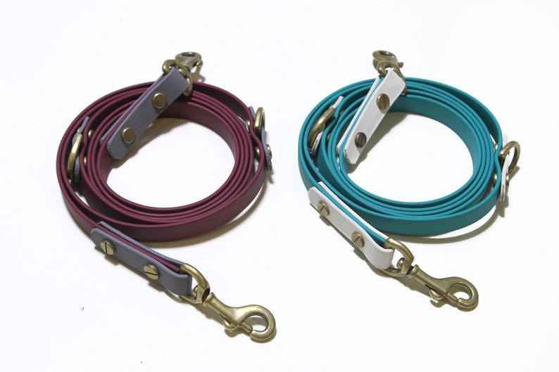 Biothane Leash Set Collar PAWS OF KOW The Jelly Collection