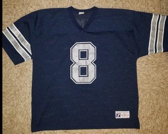 Dallas Cowboys Troy Aikman Vintage Jersey Size XL bff53b791