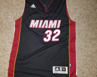 Miami Heat Adidas Shaquille O Neal Swingman Jersey Sz. M 6381196a3