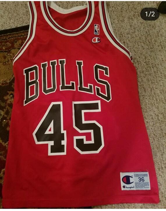 super popular 3ba49 dfdeb ebay champions bulls jersey c107c 8a625