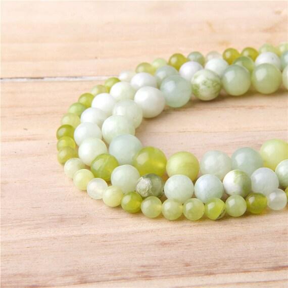 Malaysian Jade Round Beads 4mm Pale Pink 95 Pcs Gemstones DIY Jewellery Making