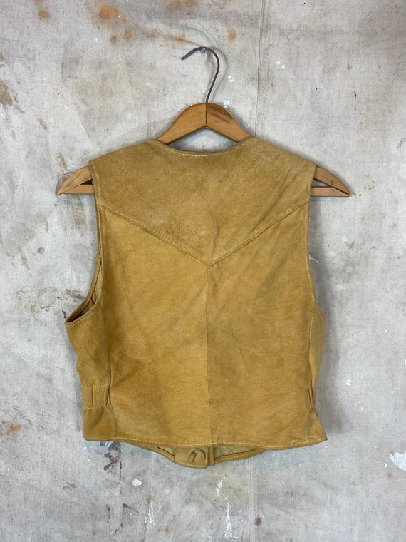 1970s Suede Leather Two Piece Set - image 2
