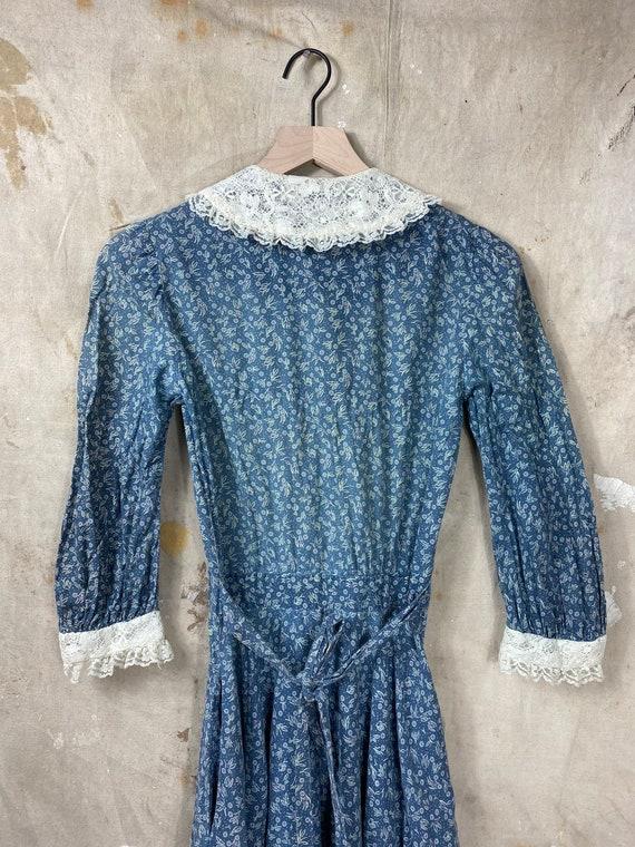 Vintage 1970s Gunne Sax Calico Antique Style Dress - image 6