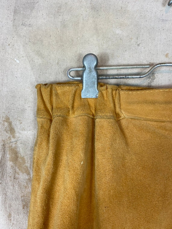 1970s Suede Leather Two Piece Set - image 10