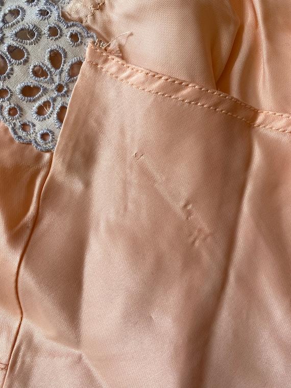 1940s Rayon Pink Slip Dress - image 8