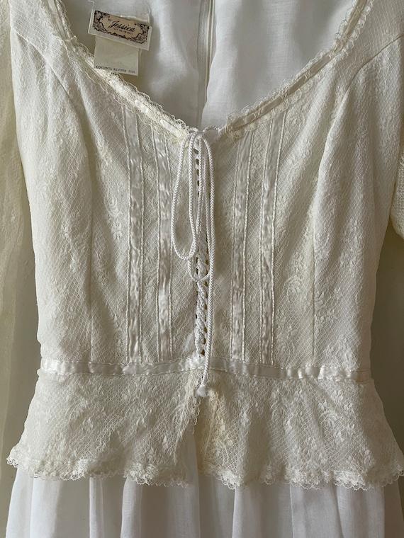 1970s Gunne Sax Dress - image 4