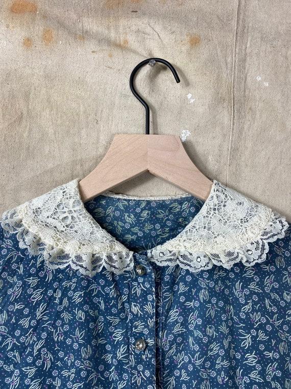 Vintage 1970s Gunne Sax Calico Antique Style Dress - image 5