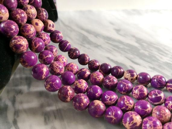 "Gemstone Beads for Jewelry Making • 4mm 6mm 8mm 10mm • 15.5/"" Strand • Jasper"