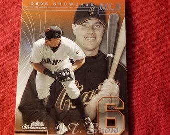 JT Snow- MLB trading card