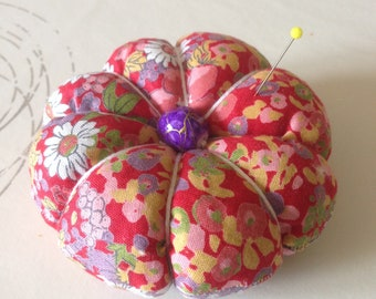 Pincushion - needle case with Lavender