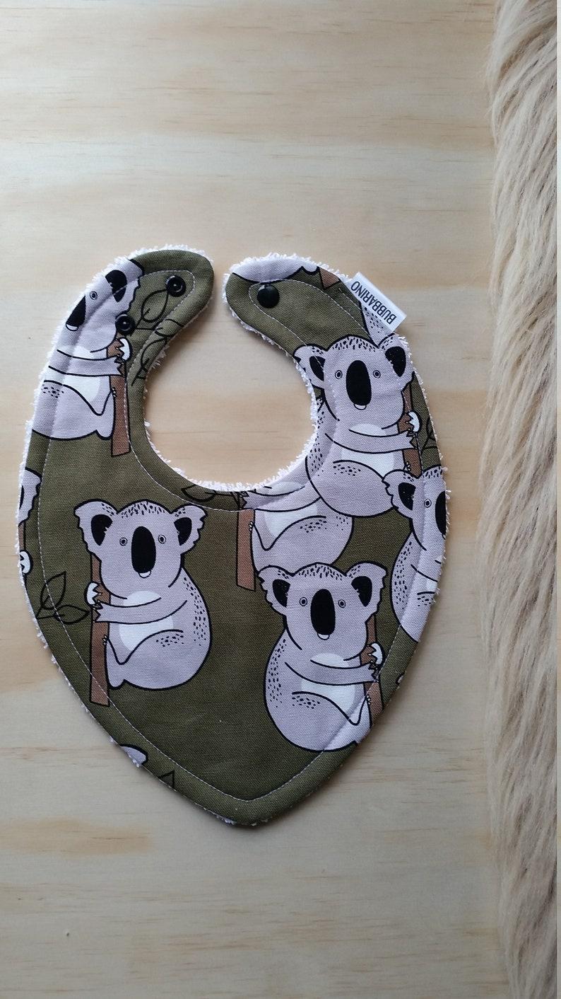 Dribble bibs Triangle bib Baby bibs Drool bibs and Baby Feeding bibs. Australiana Koala