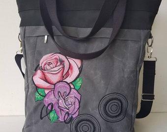 shopper waxed canvas bagpack business bag backpack 3in1 bag backpack Backpack bag business bag crossbody bag shoulder bag
